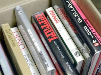 Lot 112-Quantity of Ferrari Books