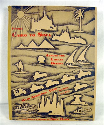 Lot 117-'From Cairo to Siwa across the Libyan Desert' by Dun