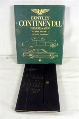 Lot 115-Bentley Literature