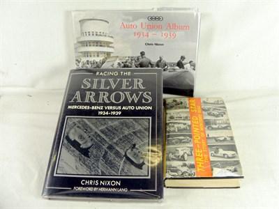 Lot 119-Auto Union & Mercedes Books
