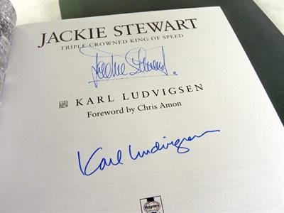 Lot 121-'Jackie Stewart' by Ludvigsen