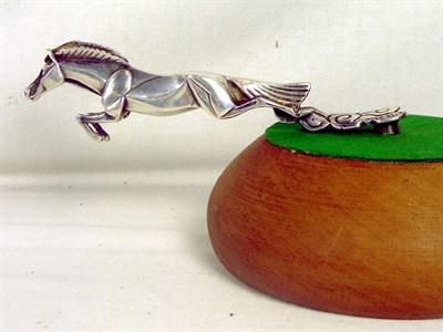 Lot 321-Rosengart Leaping Horse Mascot by Casimir Brau