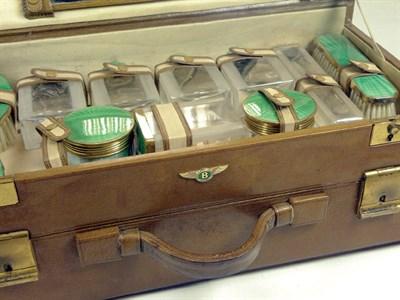 Lot 201-Bentley Badged Travelling Vanity Case