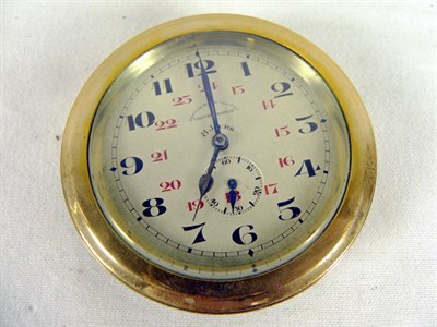 Lot 340-A Brass Car Clock