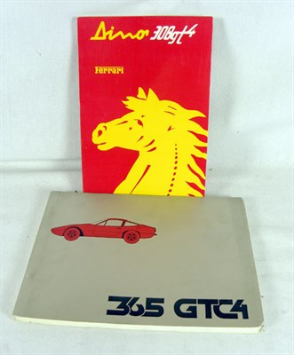 Lot 132-Ferrari Literature