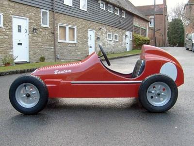 Lot 205-'Bantam' Petrol Powered Child's Car **