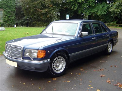Lot 15-1987 Mercedes-Benz 500 SEL