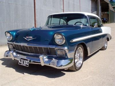Lot 52-1956 Chevrolet Bel Air Sport Coupe