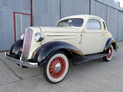 Lot 9-1936 Chevrolet Two Door Coupe
