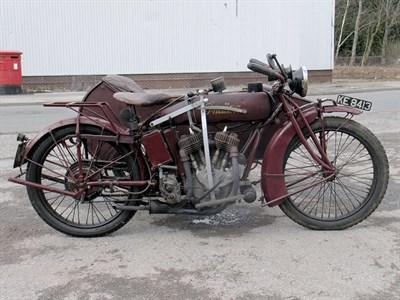 Lot 15-1921 Indian Powerplus Combination