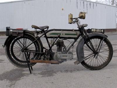Lot 4-1922 Triumph Model H
