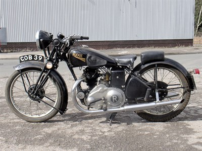 Lot 9-1936 Rudge Radial