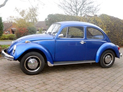 Lot 26 - 1972 Volkswagen Beetle 1200