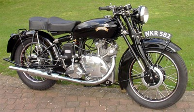 Lot 14-1951 Vincent Comet Series C