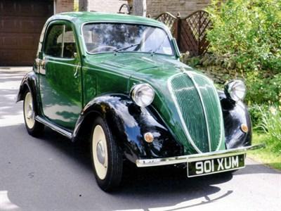 Lot 30-1948 Fiat 500 B Topolino