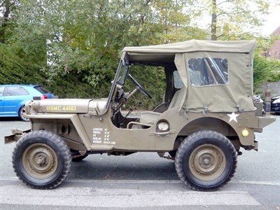 Lot 46-1952 Willys Jeep