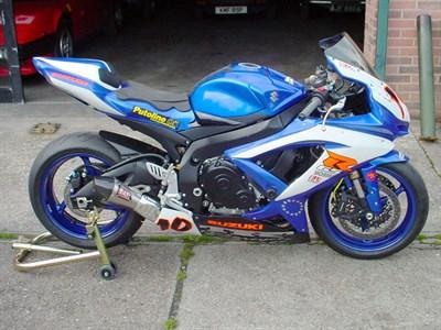 Lot 5-2009 Suzuki GSX-R600 K9