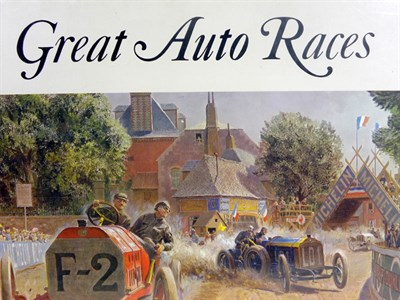 Lot 135-Great Auto Races by Peter Helck