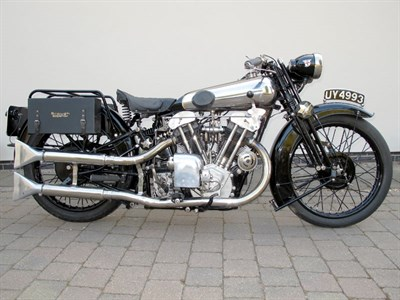 Lot 66-1929 Brough Superior SS100