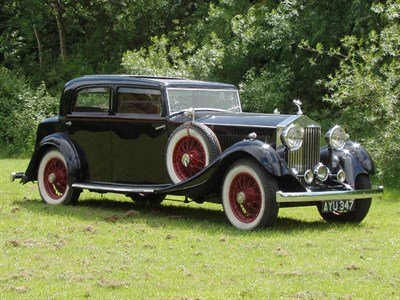Lot 20-1934 Rolls-Royce 20/25 Special Touring Saloon
