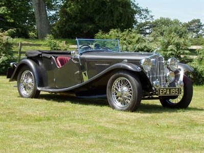 Lot 29-1936 AC 16/70hp March Special Sports Tourer