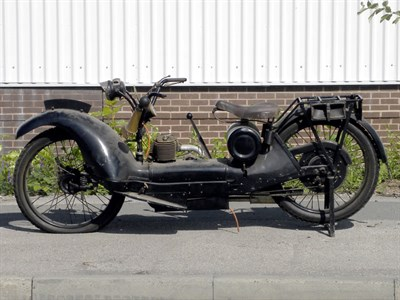 Lot 4-1925 Ner-a-Car Motorcycle