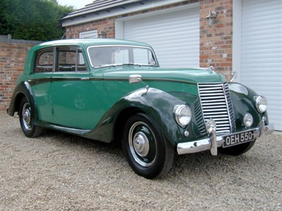 Lot 4-1950 Armstrong Siddeley Whitley 18hp Saloon