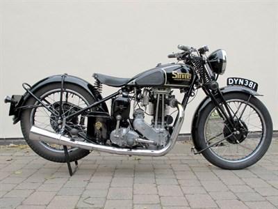 Lot 35-1937 Stevens 500cc