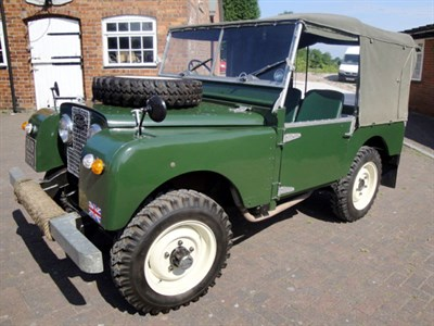Lot 46-1951 Land Rover 80