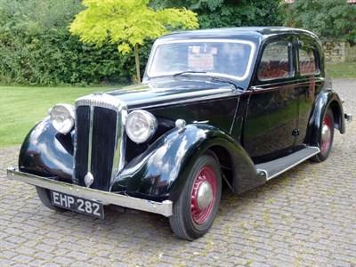 Lot 5-1939 Daimler DB18 Saloon
