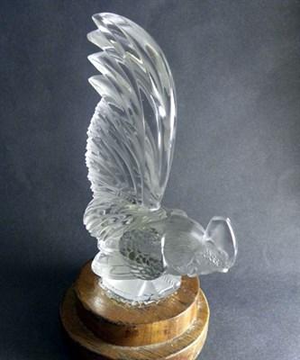 Lot 300-Coc Nain Cockerel Mascot By R.Lalique