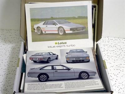 Lot 112-Quantity of Lotus Brochures