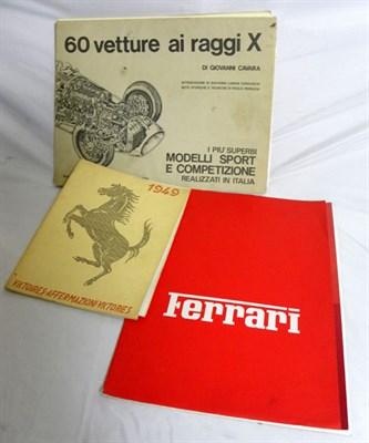 Lot 116-Assorted Ferrari Literature