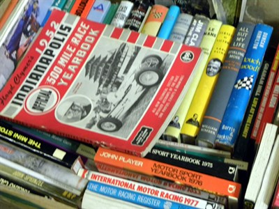 Lot 111-Quantity of Motor Racing Books