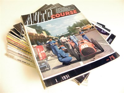 Lot 100-Collection of Autocourse Magazines