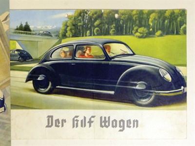 Lot 123-Volkswagen KDF-Wagon Sales Brochure