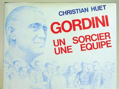 Lot 125-Gordini - Un Sorcier, Une Equipe By Huet