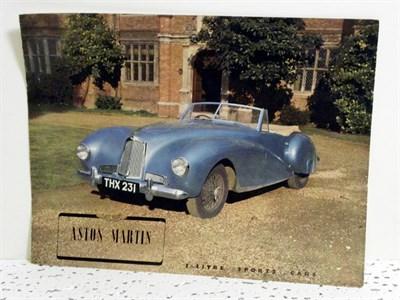 Lot 126-Aston Martin 2 Litre Sales Brochure