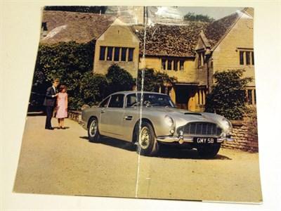 Lot 128-Aston Martin DB5 Sales Brochure