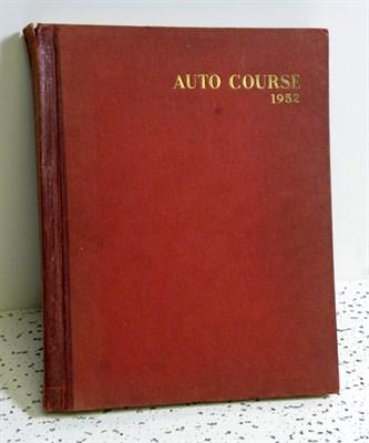 Lot 130-Bound Autocourse Volume II 1952