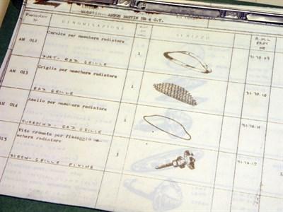 Lot 131-Aston Martin DB4 GT Parts Folder
