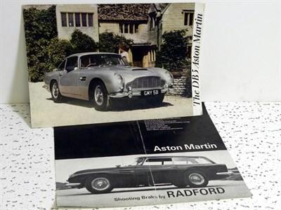 Lot 136-Aston Martin Paperwork