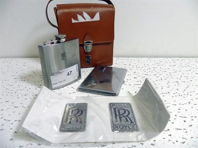 Lot 306-Rolls-Royce Ephemera