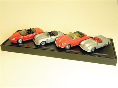 Lot 214-Porsche Model Display