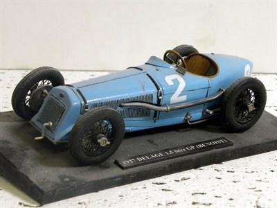 Lot 215-1927 Delage 1.5 Litre GP Scratch-Built Model