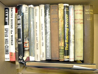 Lot 106-Quantity of Early Motoring Books