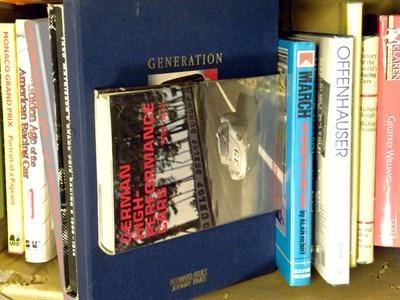Lot 127-Quantity of Motor Racing Books