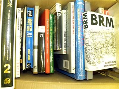 Lot 139-Quantity of Motor Racing Books