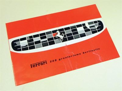 Lot 141-Ferrari 250 GT Berlinetta Sales Brochure