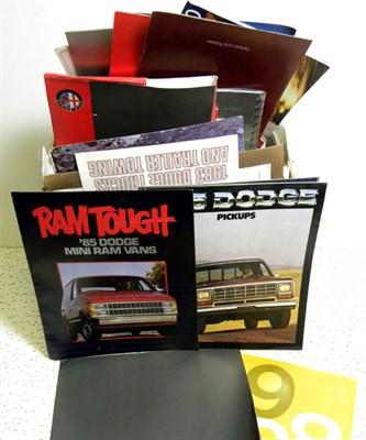 Lot 143-Assorted Sales Brochures